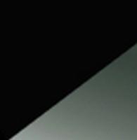 Noir / rivets nickel noir