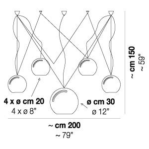 SPHERE SP 5_200 cm x H 150 cm