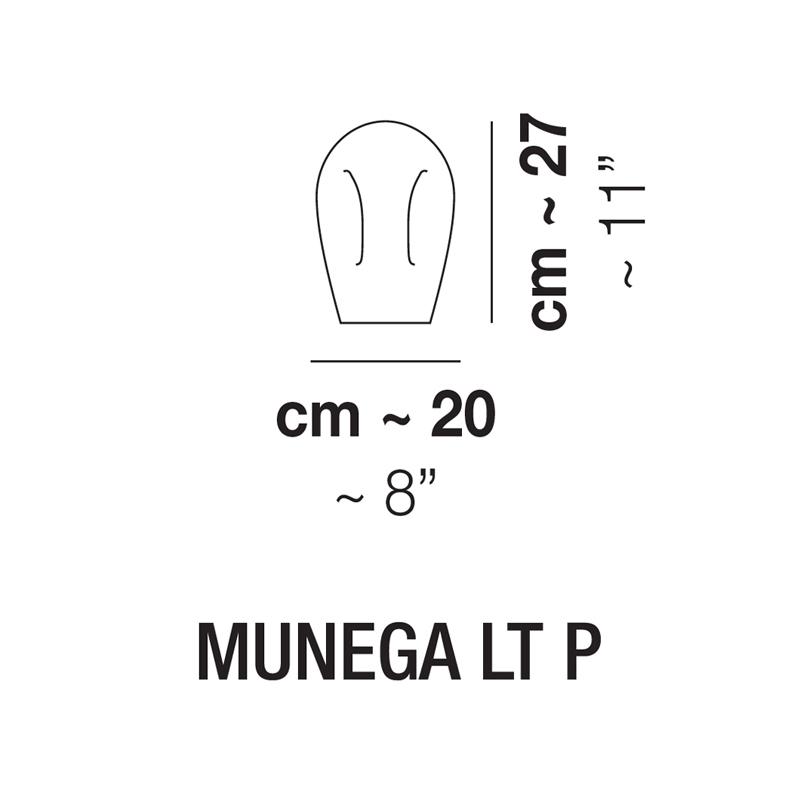 MUNEGA LT P_20 cm x H 27 cm