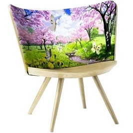 Embroidery Chair Spring