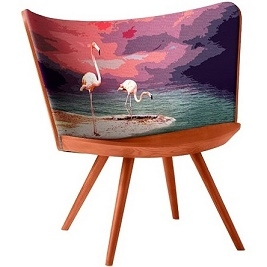 Embroidery Chair Summer