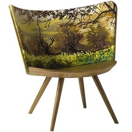 Embroidery Chair Autumn