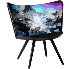 Embroidery Chair Winter