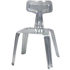 Pressed Chair_ Aluminium untreated