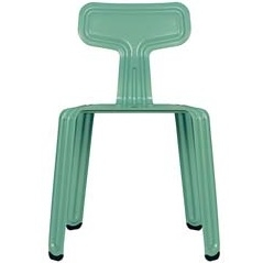 Pressed chair_ matt drama-queen-green