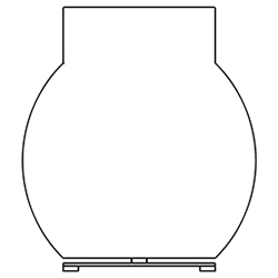 shape 2_ 30 x 15 x H 52 cm