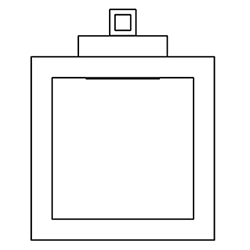 uffizi AP 1_ 35 x 7,5 x H 35 cm