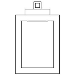 uffizi AP 2_ 30 x 7,5 x H 40 cm