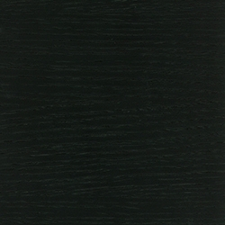 roble, lacado jet black