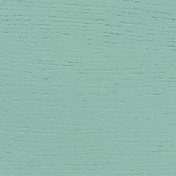 chêne, laqué menthe