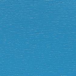 chêne, laqué bleu clair