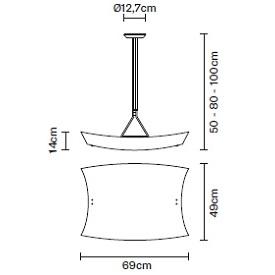 Teorema D09_69 cm x 49 cm x Hmax 100 cm