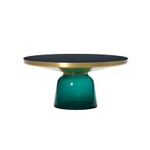 Bell Coffee_Brass/Emerald Green