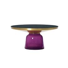 Bell Coffee_Brass/Amethyst Violet