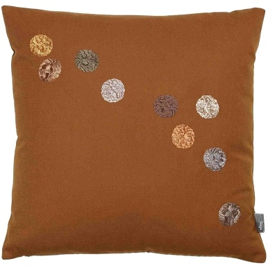 Dot Pillows_ cognac