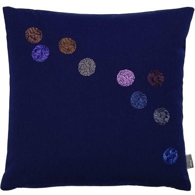 Dot Pillows_ blu inchiostro