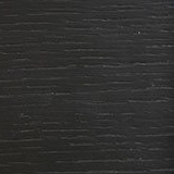 Black stained wood