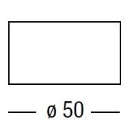 Difusor redondo_Ø 50 cm x H 25 cm