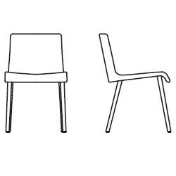 51,5 cm x 60 cm x H 81 cm, without armrests