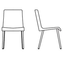51,5 cm x 62 cm x H 89 cm, without armrests