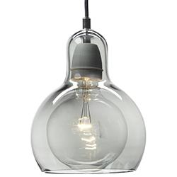 Mega Bulb_ Silber mit schwarzem Kabel