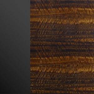 negro cromo / eucalipto frisé brillante