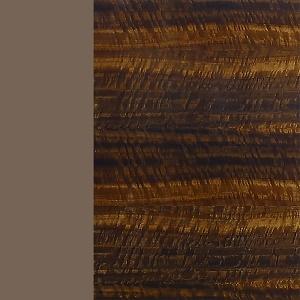 Bronce / eucalipto frisé brillante