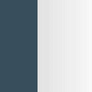 Azul petróleo / Miroir gris