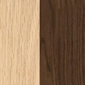 Oak/Walnut