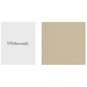whitewash, dupione pearl