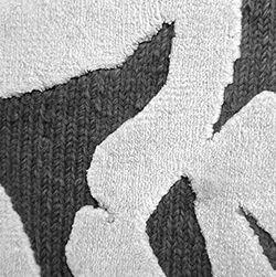 Brush New Zealand Wool&Viscose_GG04/E12 - Graybrown/Ecru