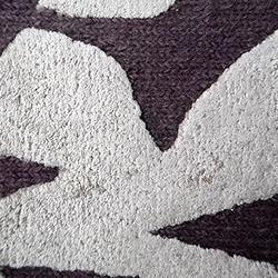 Brush New Zealand Wool&Viscose_P07/E12 - Lilac/Ecru