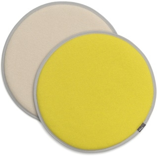 Seat Dots_ Plano 39 yellow/pastel green, 03 parchment/cream white