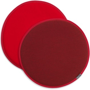 Seat Dots_ 97 red/coconut, 72 poppy red