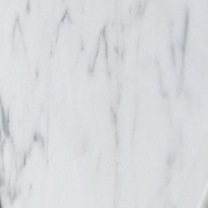 Glossy white Carrara Marble