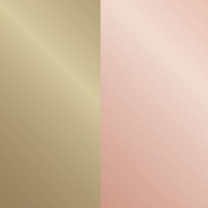 Oro chiaro lucido/oro rosa lucido