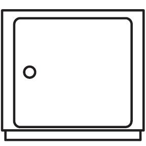 Ø 42 cm x H 38.5 cm