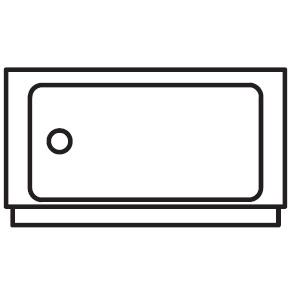 Ø 42 cm x H 23.5 cm