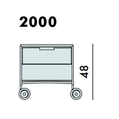 2000_ 49 x 47.5 x H 48 cm