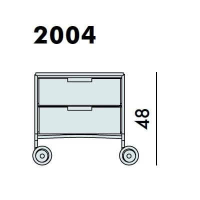 2004_ 49 x 47.5 x H 48 cm