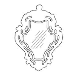 ROKOKÓ01_61 x 6 x H 84 cm
