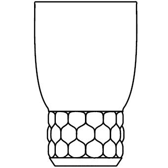 1492_ Ø 8,5 cm x H 13 cm