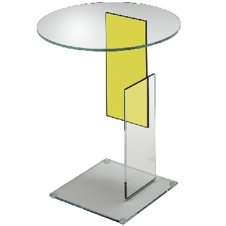 Transparent extralight glass/Yellow