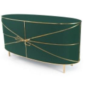 88 Secrets Sideboard Verde Oro