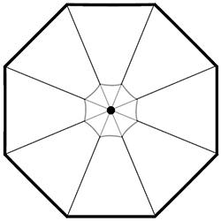 Round_ Ø 300 x H 264 cm