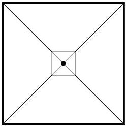 Square_ 350 x 350 x H 274 cm