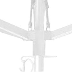 Aluminio barnizado de polvo blanco