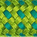 Rope Corda 10_T2862 Verde Erba/Turchese
