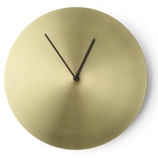 Norm Clock_Ottone spazzolato