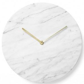 Marble Clock_Bianco